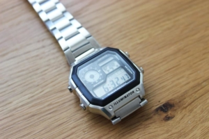 Casio 1200WHD Test