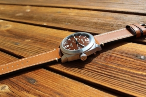 Uhrenarmband aus Leder