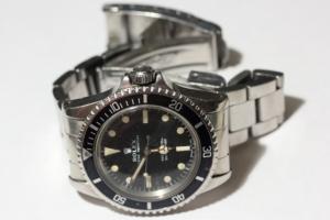 Drehbare Lünette bei Vintage Rolex